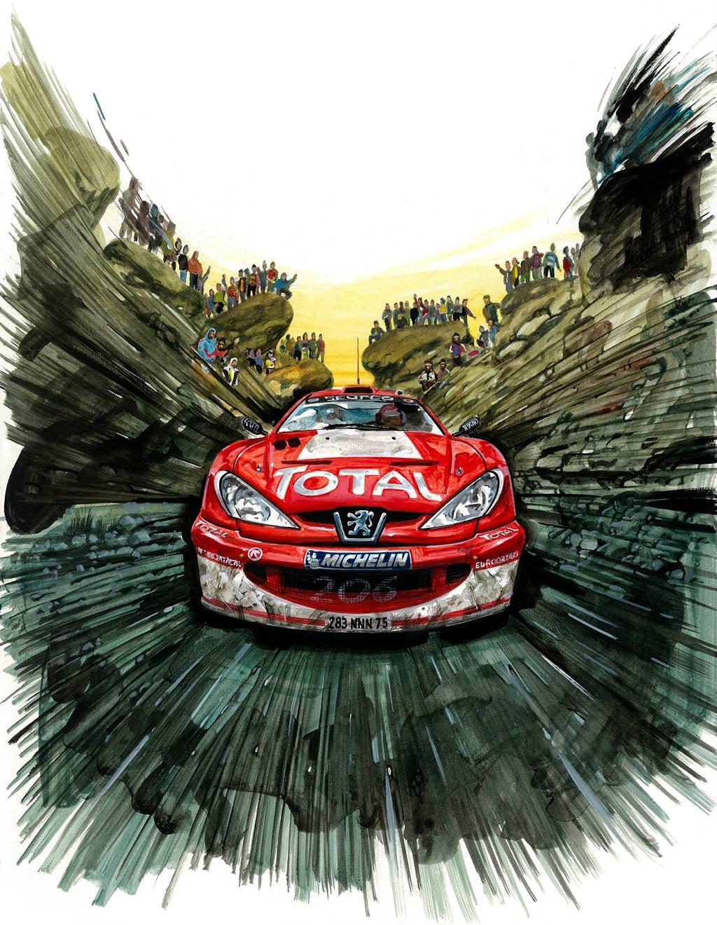 1000+ images about Peugeot 206 WRC on Pinterest